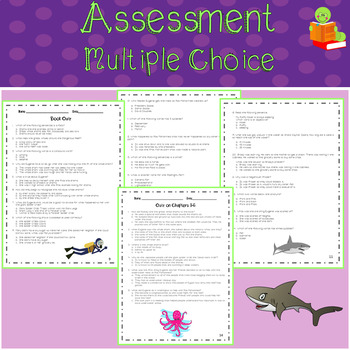 Adventures of the Shark Lady: Eugenie Clark Around the World Assessment