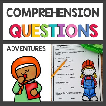 Adventures of the Superkids Graphic Organizers and Comprehension Questions