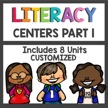 Adventures of the Superkids Literacy Centers Bundle