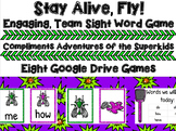 Adventures of the Superkids Memory Words Games