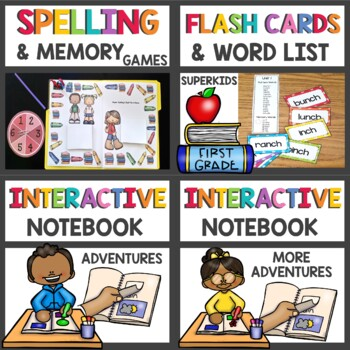 First Grade Superkids BUNDLE