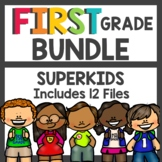 First Grade Superkids BUNDLE