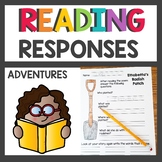 1st Grade Reading Response Sheets
