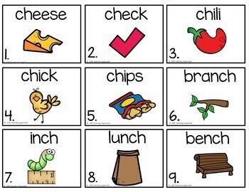 First Grade Literacy Centers Unit 1