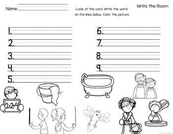 First Grade Literacy Centers Unit 2