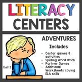 First Grade Literacy Centers Unit 3