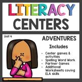 First Grade Literacy Centers Unit 4