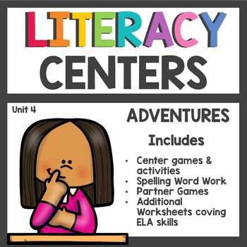 Adventures of the Superkids Unit 4 Literacy Centers