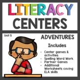 First Grade Literacy Centers Unit 5