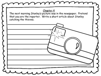 Adventures with Stanley: Literature unit based on Flat Stanley