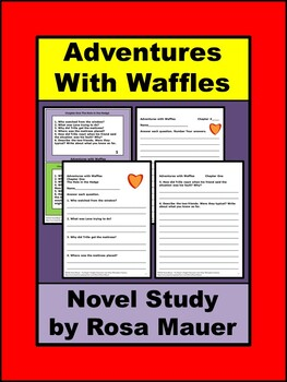 Adventures with Waffles Book Unit