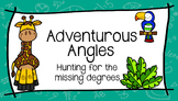 Adventurous Angles: Hunting for the Missing Degrees
