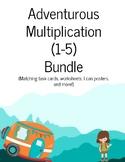 Adventurous  Multiplication (1-5) Bundle
