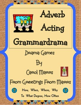 Adverb Acting Grammardrama