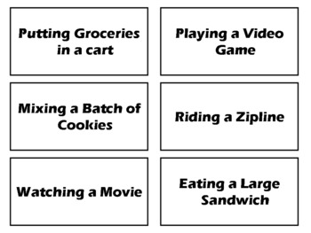 Adverb Antics: The Active Adverb Activity that beats worksheets! (adverb game)