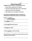 Adverb Assessment