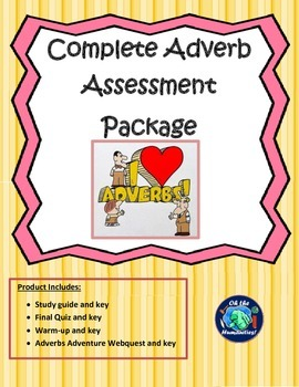 Adverb Assessment Complete Package