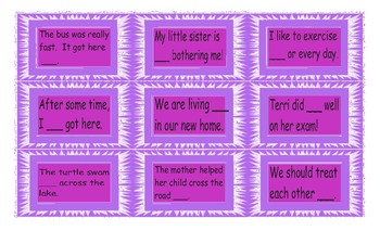 Adverb Cards
