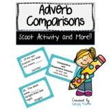 Adverb Comparisons -er, -est, more and most--Scoot Version