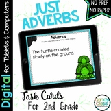 Adverb Digital Task Cards: 2nd Grade Google Classroom Dist