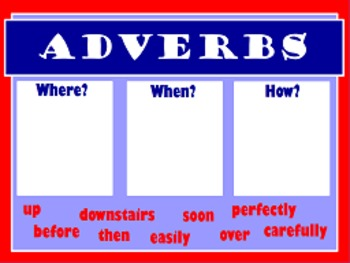 Adverb Flipchart 2 Pack