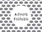 Adverb Foldable