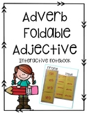 Adverb Foldable Interactive notebook