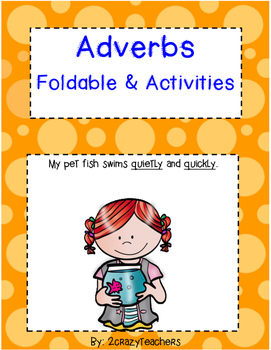 Adverb Foldable Worksheets & Teaching Resources | TpT