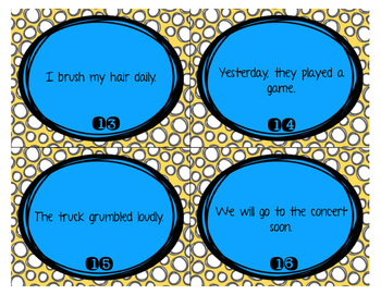 Adverb Hunt and Sort Task Cards and Activity