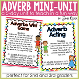 Adverb Mini-Unit Aligned to Common Core Standards