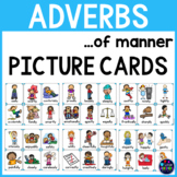 Adverb Picture Cards ~ Adverbs Activities : Adverbs of manner