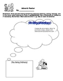 """Adverb """"Poster"""" Activity"""