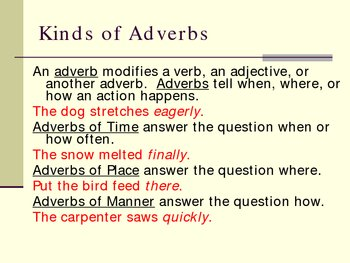 Adverb Power Point