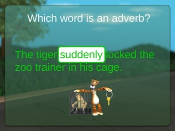Adverb Powerpoint : Timmy Turtle Finds Adverbs