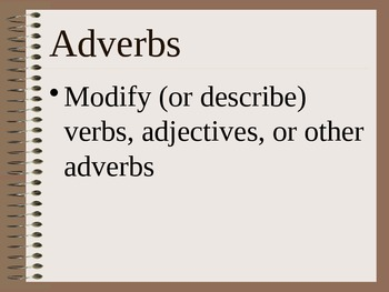 Adverb Powerpoint notes