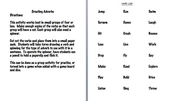 Adverb Practice Bundle
