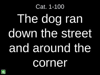 Adverb/Preposition Jeopardy 1
