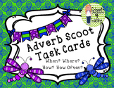 Adverb Scoot - Task Cards