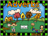 Adverbs in Sentences - Flippers How? When? Where?