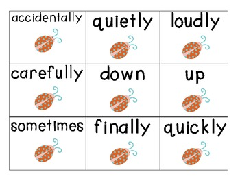 Adverb Sentence Sort