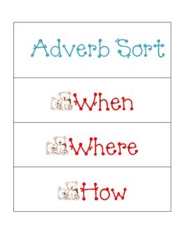 Adverb Sort
