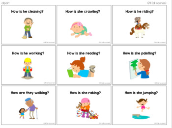 Adverb Task Cards [ABLLS-R Aligned G41]