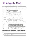 Adverb Test