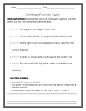 Adverb and Preposition Practice