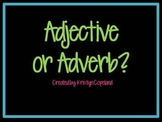 Adverb or Adjective? Powerpoint 1
