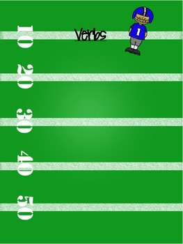 Adverb or Verb? Sorting Center Football Theme