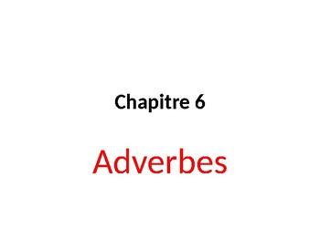 Adverbes en français