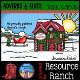 Christmas Activity Adverbs Task Cards