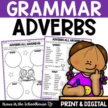 Adverbs - Engaging Activities to Teach Grammar
