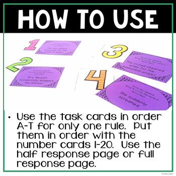Adverbs!  Task Cards!